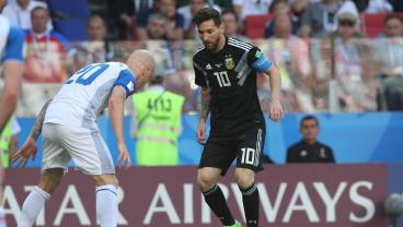 Argentina Goes On Without Messi, But Teammates And Coaches Are Convinced He'll Return