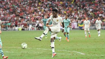 d262d9a9f Tim Weah Looks To One Up His 3 Fabled PSG Teammates During USMNT-Brazil  Clash
