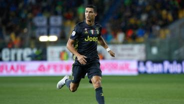Cristiano Ronaldo Nets Game-Winner For Juventus In The 81st Minute