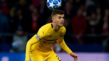 Christian Pulisic Finishes Second In Ballon d'Or Kopa Trophy Voting
