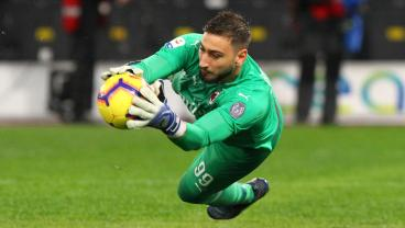 19-Year-Old Gianluigi Donnarumma Marks 100th Straight Start With Incredible Save
