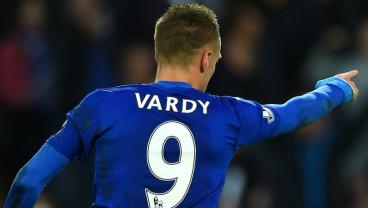 Jamie Vardy With The Sensational Volley vs. Liverpool