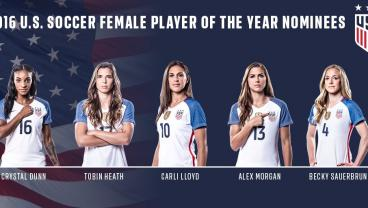 Which USWNT Star Should Win Player Of The Year?
