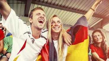 German soccer couple - things that happen when you date a die-hard football fan