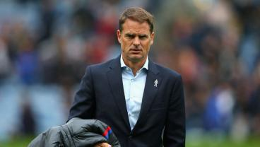 Frank De Boer's 5 Games In Charge Of Crystal Palace, Ranked