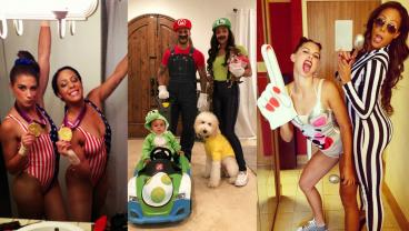 Ranking Sydney Leroux's 25 Greatest Costumes From Gymnast To Video Game Characters