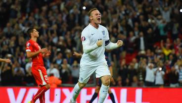 "5 Wayne Rooney Moments That Made You Cry ""God For Harry, England, And Saint George!"""