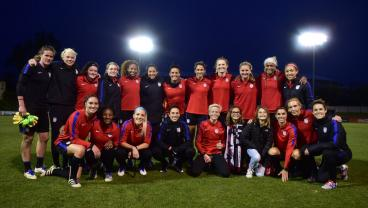 The USWNT Prep For The SheBelieves Cup And 2017