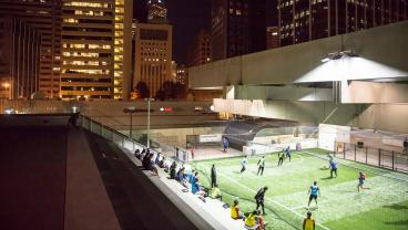 Atlanta Has The First Soccer Field Inside A Train Station In The World
