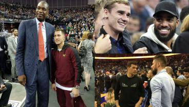 NBA London Game Packed To The Rafters With Footballing Royalty
