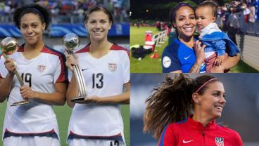 18 Side-By-Sides Of Players In '08 And '18 Show Changing Face Of The USWNT