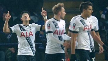Son Heung-min Goes Top Shelf Against Leicester City