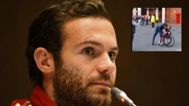 Kind Gesture From Juan Mata To A Disabled Fan