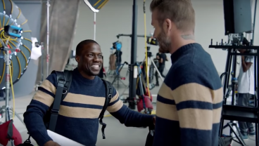 Kevin Hart Trains To Be David Beckham