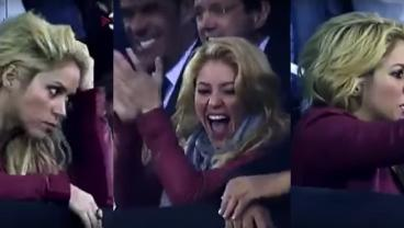 Watching Shakira Freak Out While She Watched El Clasico Is Hilarious And Tiring