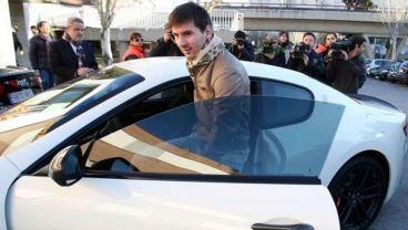 Lionel Messi's car collection