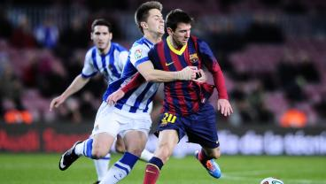 Watch: The Most Brutal Tackles On Lionel Messi