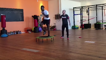 Mario Balotelli's Conditioning Training