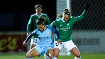 Carli Lloyd Scored Her First Goal For Manchester City And It Was In The Champions League