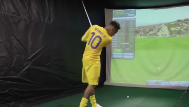 Watch How Bad Neymar Is At Golf