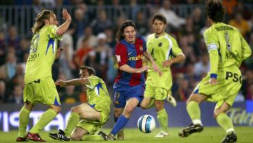 Lionel Messi Goal vs Getafe