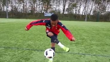 Omari Hutchinson Arsenal Youth Prodigy