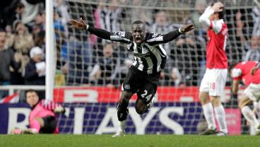 Cheick Tiote wonder goal volley VS Arsenal