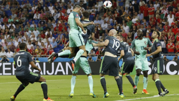 How high can Cristiano Ronaldo jump