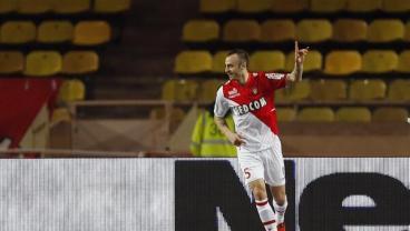 Dimitar Berbatov Nonchalant Chip Goal Monaco