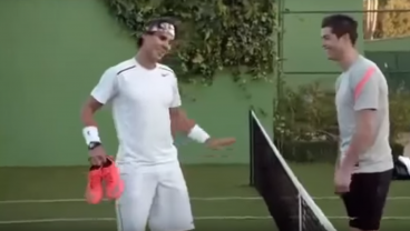 This Rafael Nadal vs Cristiano Ronaldo Nike Commercial Was Epic