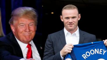 Two Impressionist Nail A Wayne Rooney And Donald Trump Interaction