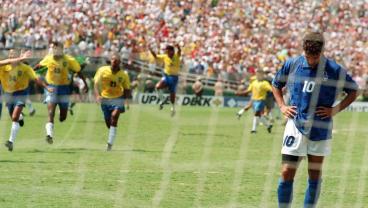 Roberto Baggio Penalty Miss Vs Brazil