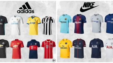 Kit Battle 2017: Nike vs. Adidas