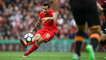 Since His Debut, Coutinho Has Scored More Goals Outside The Box Than Anyone In The Premier League