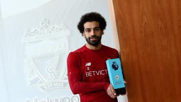 Liverpool's Mohamed Salah Named Premier League Player Of The Month