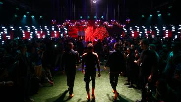 Inside The Nike Mercurial Boot Launch In London