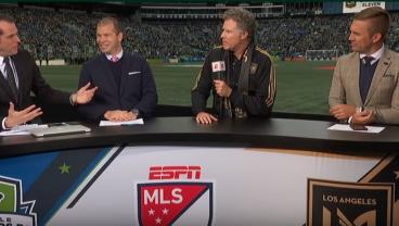Will Ferrell Goes Full Ron Burgundy For LAFC vs Seattle