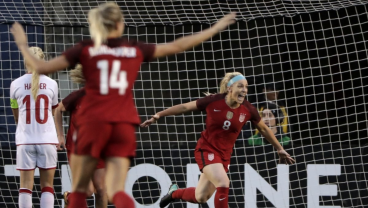 Watch Some Of Julie Ertz's Best Moments For The USWNT