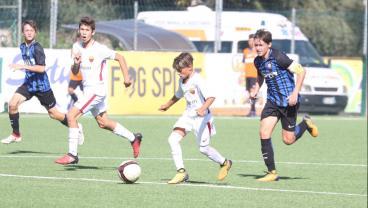 Roma's 13 Year Old Wonder Kid Pietro Tomaselli Is Legit