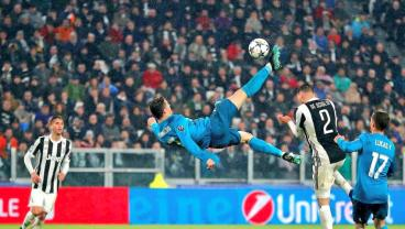 Watch All Of Cristiano's Bicycle Kick Attempts Over The Last 15 Years