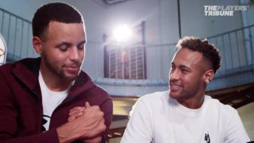 Neymar Jr And Steph Curry Talk Life, Messi and Ronaldo And More