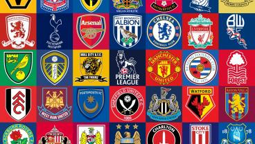 English Soccer Teams Collage