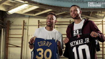 Steph Curry and Neymar: The Greatest Crossover Of All Time