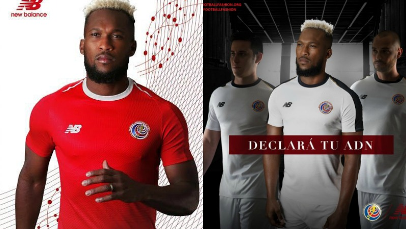 2018 World Cup Jerseys: Costa Rica