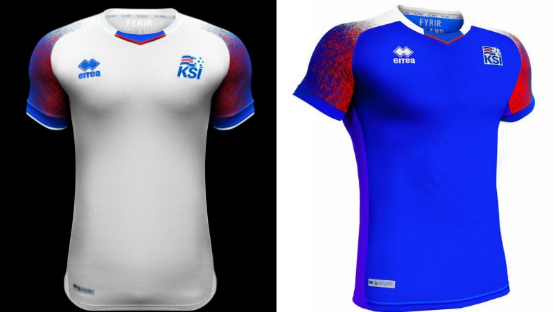 2018 World Cup Jerseys Iceland