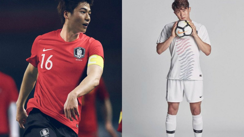 2018 World Cup Jerseys South Korea
