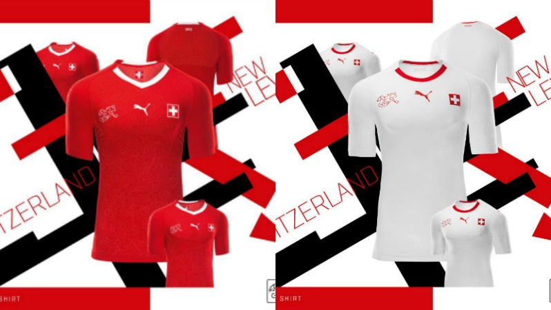 2018 World Cup Jerseys Switzerland