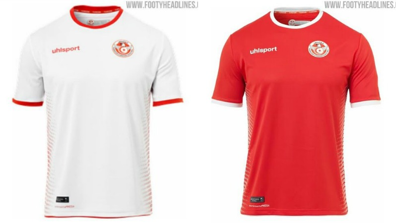 2018 World Cup Jerseys Tunisia
