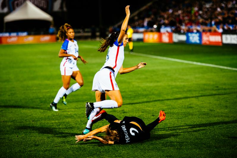 Alex Morgan goal New Zealand