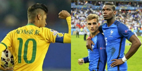 Brazil vs. France 2018 FIFA World Cup Final
